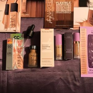 HIGH END FOUNDATION 15 TRIAL SIZE FOUNDATION PACK